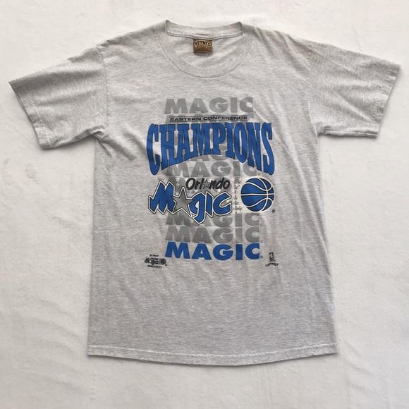 best service 88aa6 b7b7c Vintage NBA Finals Orlando Magic 1995 Shirt Medium